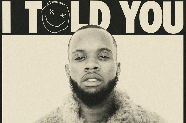 "album cover for Tory Lanez's ""I Told You"""