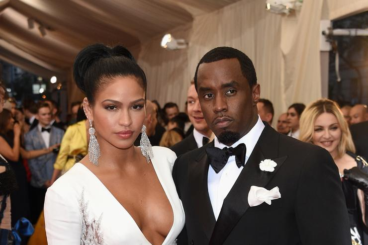 Cassie & Diddy at the Met Gala