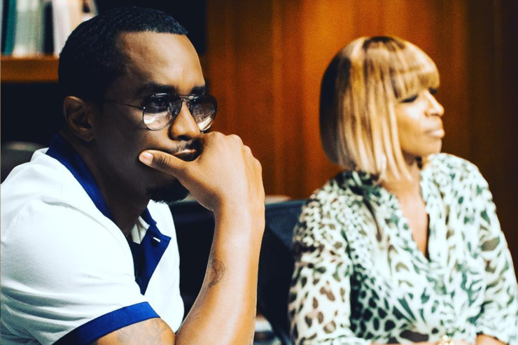 Diddy and Mary J. Blige.