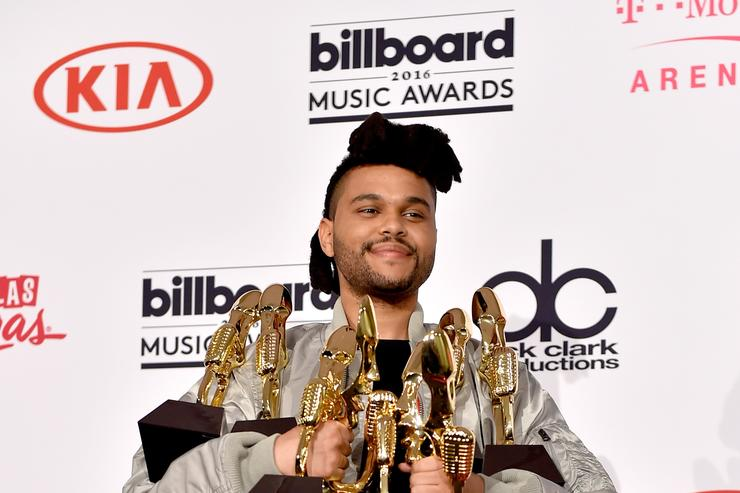 The Weeknd at the BMAs