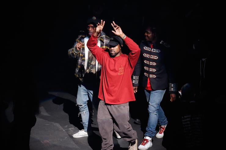Kanye West Season 3 fashion show