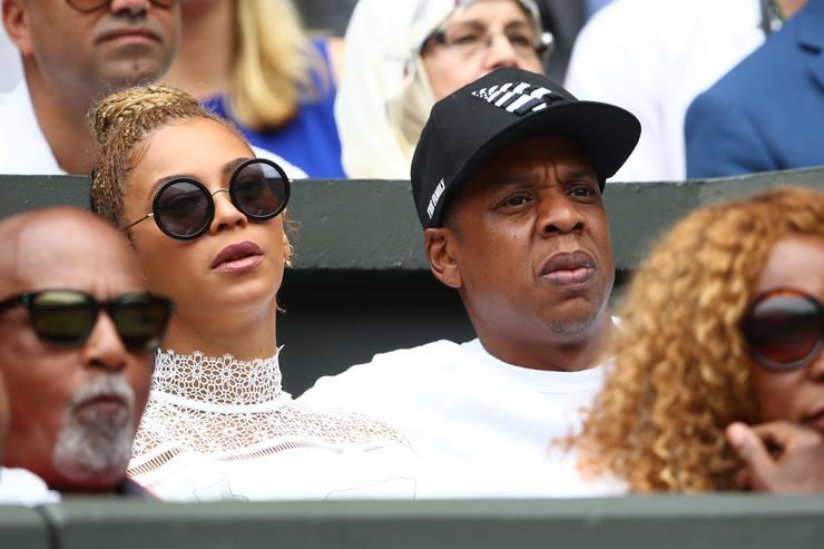Jay Z at Wimbledon 2016