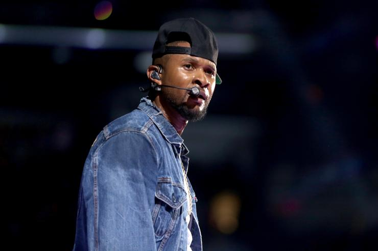 Usher at 2016 iHeartRadio Music Festival