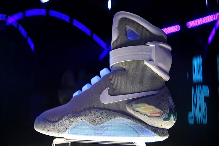... Nike Mag Raffle Reportedly Raised 6.75 Million For Parkinson ... 6cd3982ed5bf