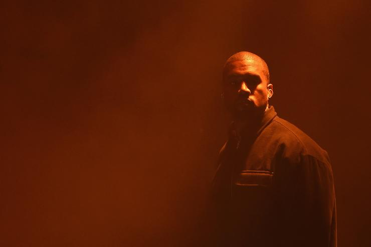 Kanye West at Harper's Bazaar Celebrates 'ICONS By Carine Roitfeld'