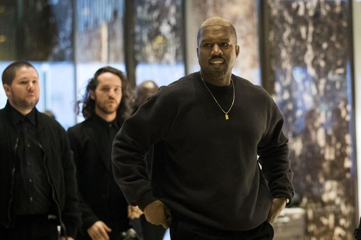Donald Trump and Kanye West meet at Trump Tower in NYC