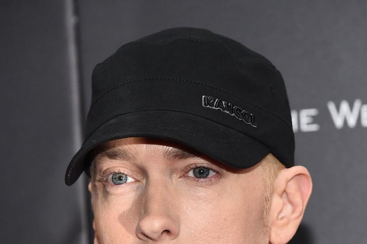 Eminem at Southpaw premiere