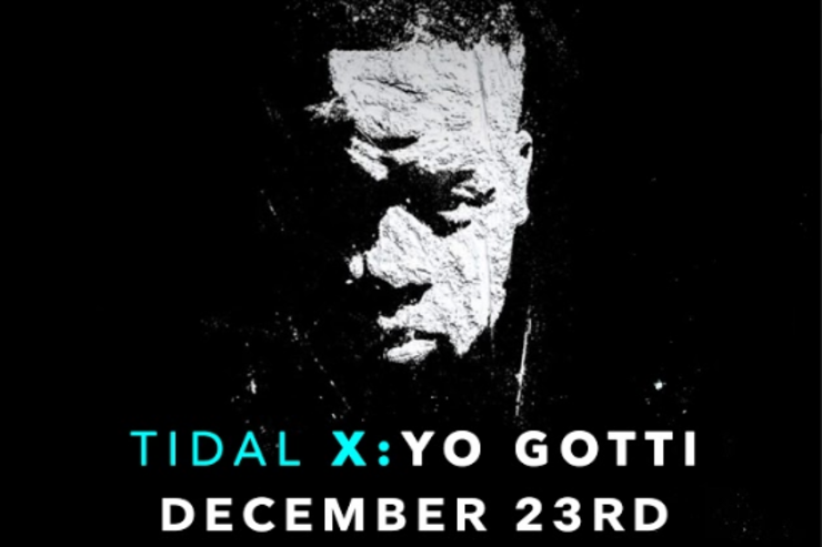 Yo Gotti flyer for Tidal concert