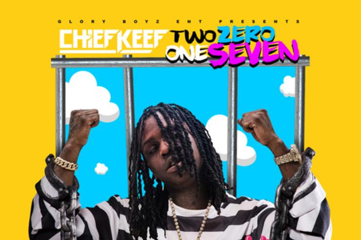 """Chief Keef album cover for """"Two Zero One Seven"""""""