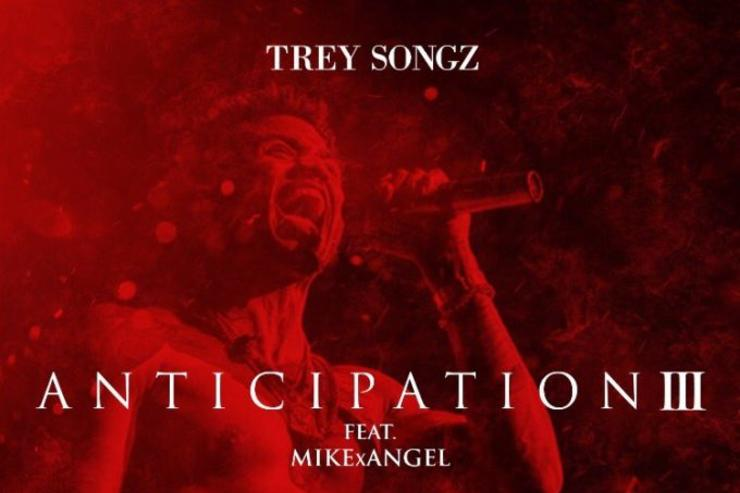 Trey Songz Anticipation 3 cover