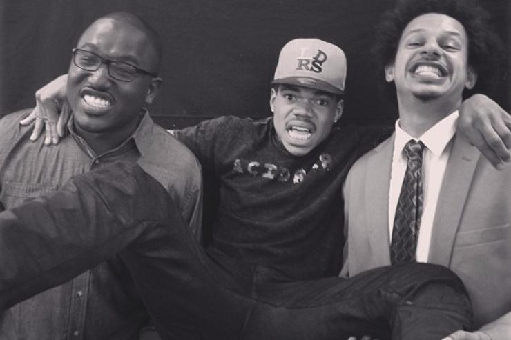 Chance The Rapper Eric Andre