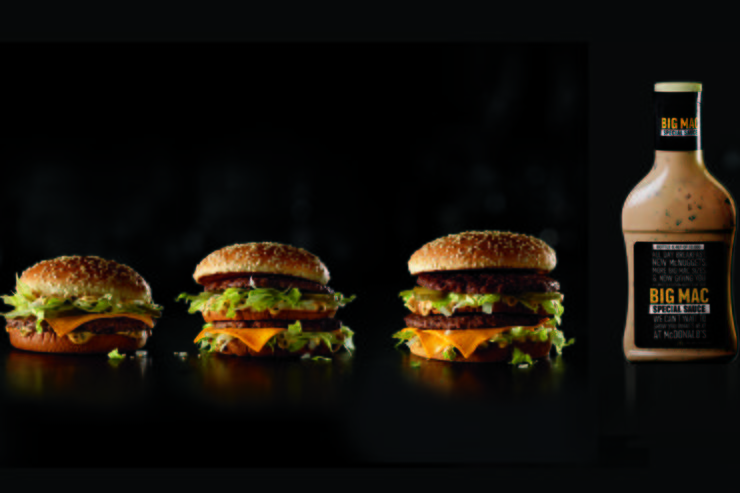 Mac Jr., Big Mac, Grand Mac.