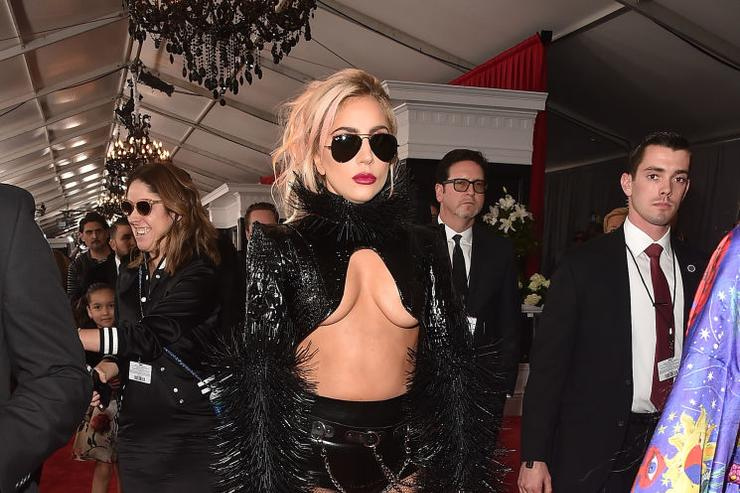 Musician Lady Gaga attends The 59th GRAMMY Awards at STAPLES Center on February 12, 2017 in Los Angeles, California.