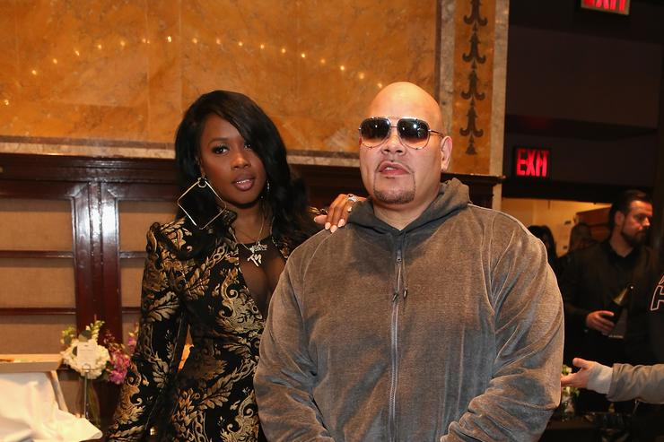 Fat Joe and Remy Ma at NYFW