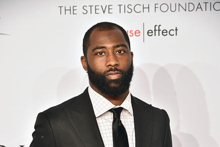 Darrelle Revis attends 15th Annual Elton John AIDS Foundation An Enduring Vision Benefit at Cipriani Wall Street on November 2, 2016 in New York City. (