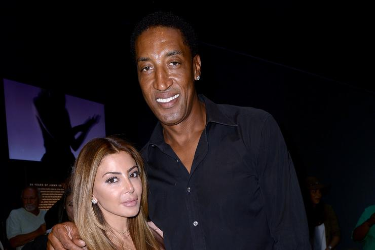 Larsa & Scottie Pippen