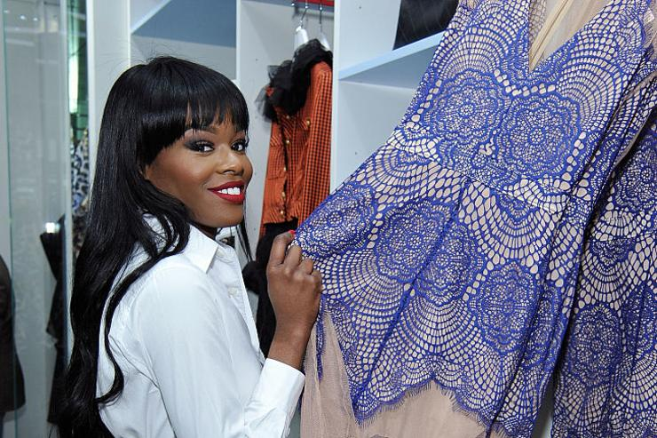 Singer Azealia Banks attends the Nasty Gal Melrose Store Launch on November 20, 2014 in Los Angeles, California.