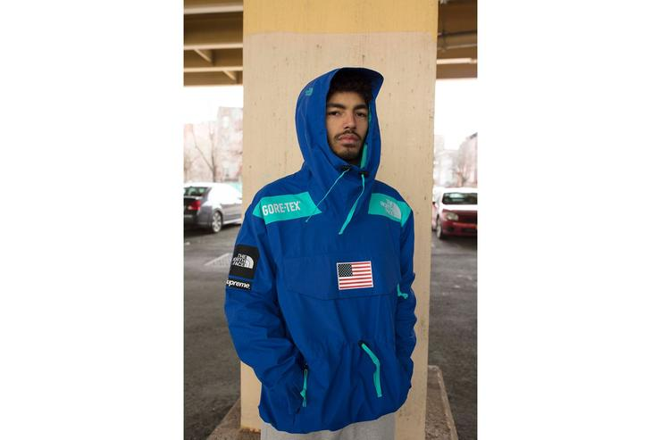 Supreme x The North Face 2017