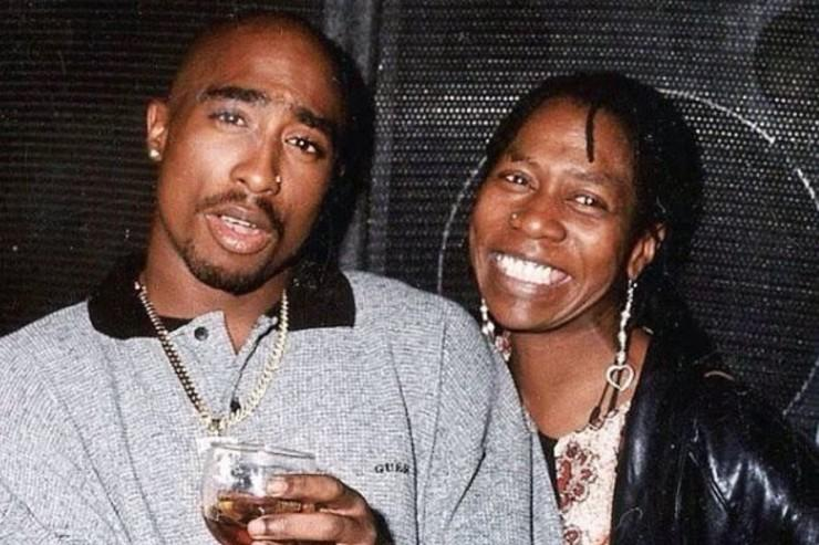 Tupac & his mother