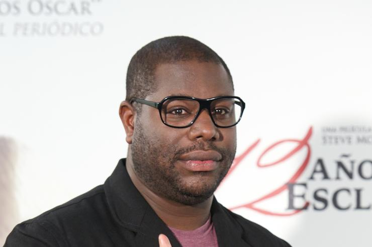 Steve McQueen at '12 Anos De Esclavitud' Madrid Photocall