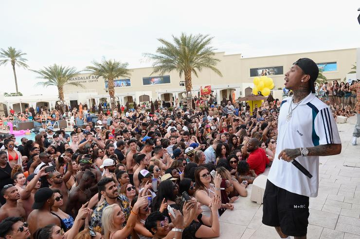 Tyga Kicks Off DAYLIGHT Beach Club's Grand Opening Weekend