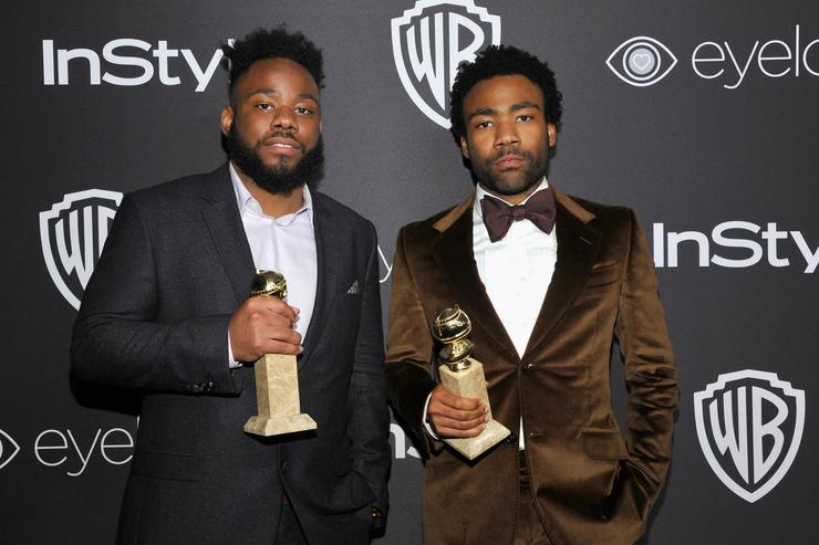 Donald Glover The 2017 InStyle And Warner Bros. 73rd Annual Golden Globe Awards Post-Party