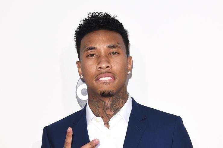 Tyga 2015 American Music Awards - Arrivals