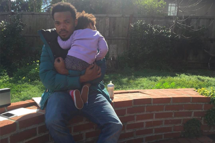 Chance The Rapper & baby daughter