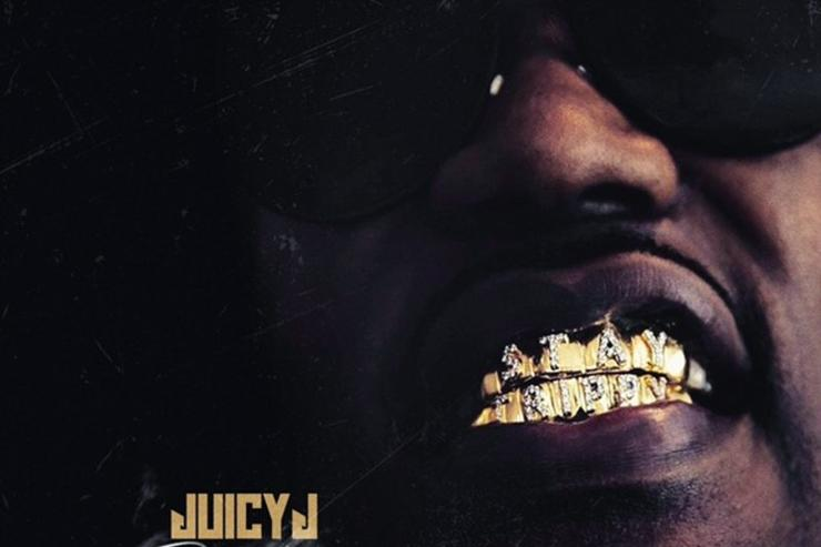 "Artwork for Juicy J's ""Gas Face"" mixtape"