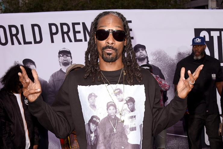 Snoop at Straight Outta Compton Premiere