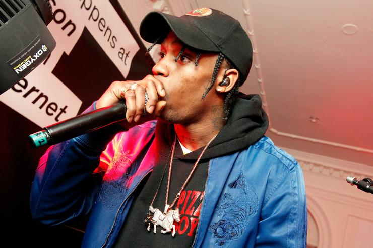 Travis Scott DIESEL Celebrates Madison Avenue Flagship - After Party