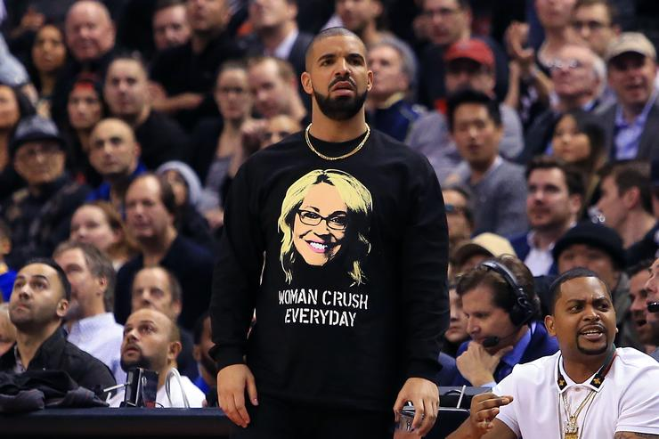Drake Golden State Warriors v Toronto Raptors