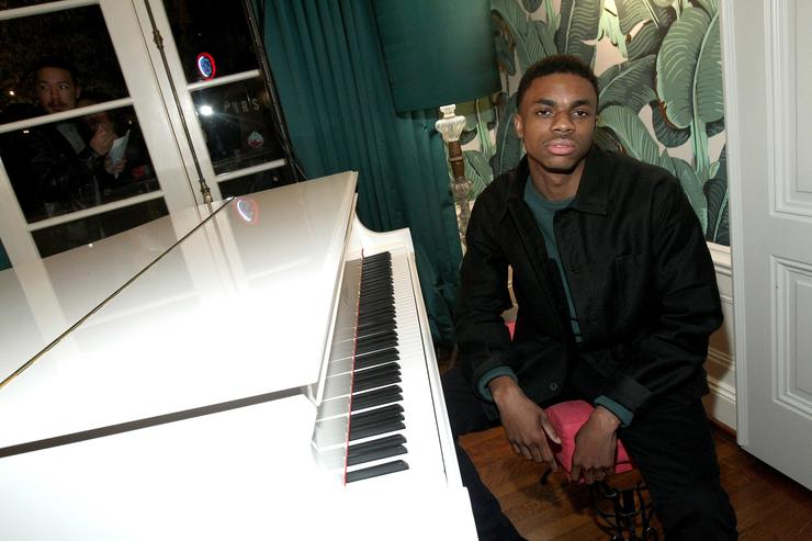 Vince Staples Def Jam Toasts The Grammys at the Private Residence of Jonas Tahlin, CEO Absolut Elyx