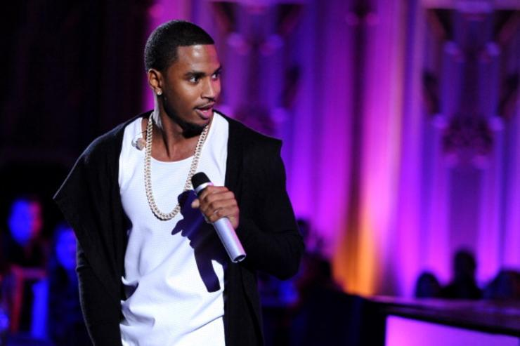 Trey Songz at Young Hollywood Awards