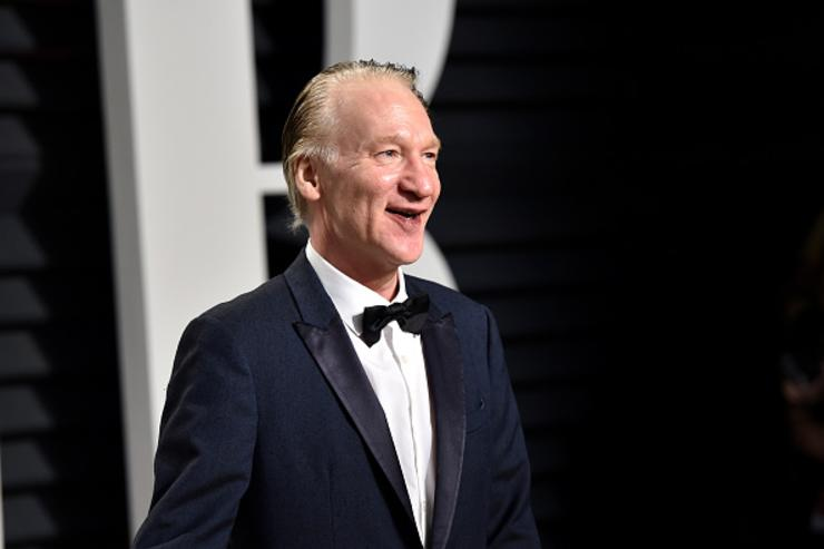 Bill Maher at Vanity Fair Oscar Party.