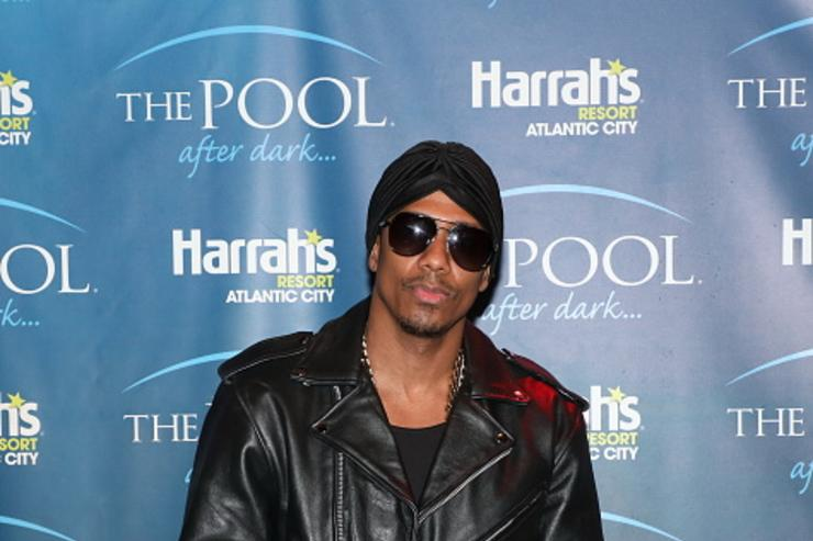 Nick Cannon at the Pool After Dark.