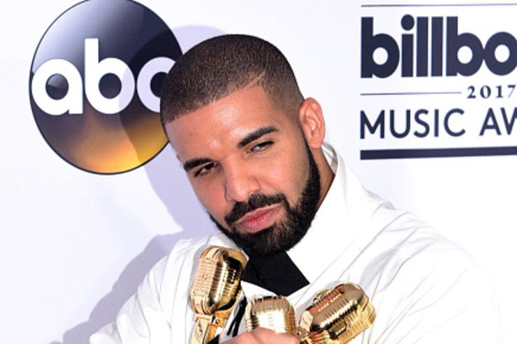 Drake at the Billboard Music Awards.