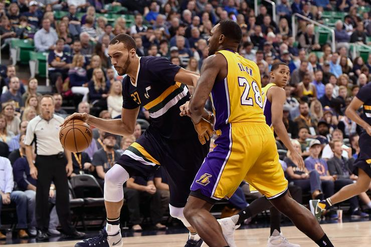 Rudy Gobert Los Angeles Lakers v Utah Jazz