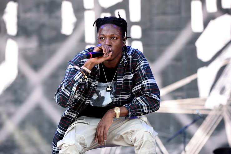 Joey Bada$$ 2016 Coachella Valley Music And Arts Festival - Weekend 2 - Day 1