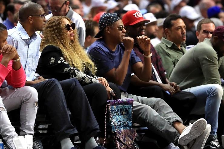 Jay-Z Utah Jazz v Los Angeles Clippers - Game Seven