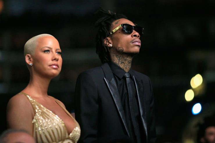 Wiz Khalifa 56th GRAMMY Awards - Backstage And Audience