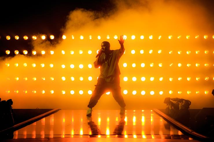 Kanye West 2015 iHeartRadio Music Festival - Night 1 - Show