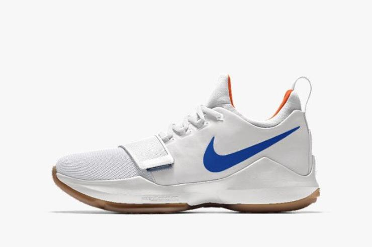 paul george shoes kids gold