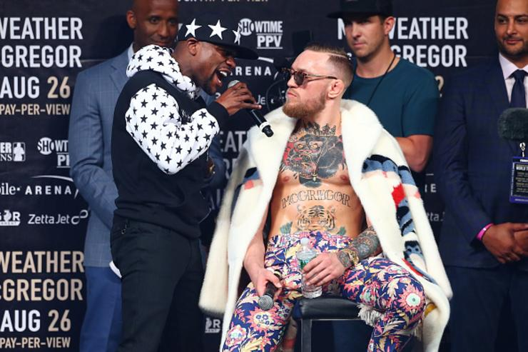 Mayweather x McGregor in BK