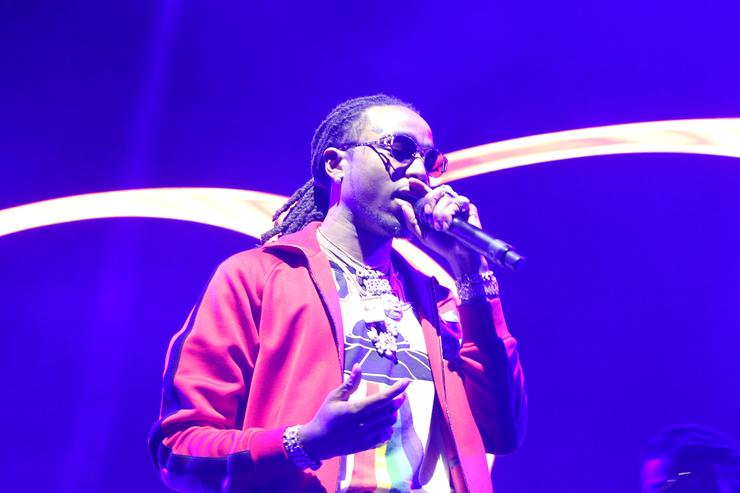 Quavo on stage