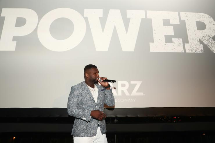 50 Cent STARZ 'Power' Season 4 L.A. Screening And Party