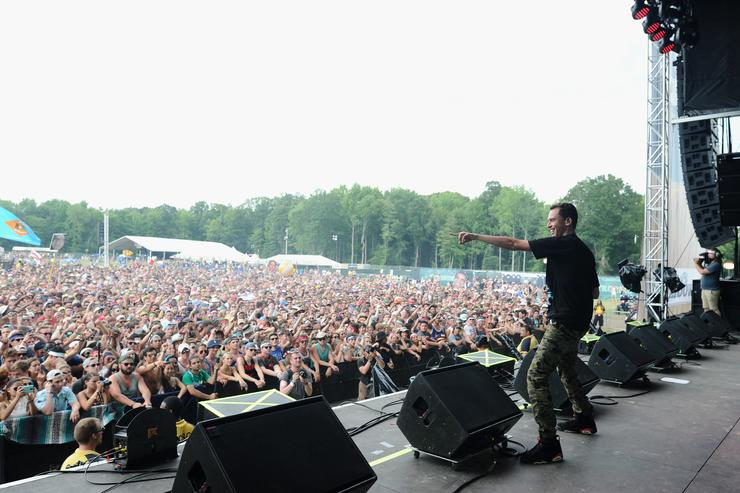 Logic Firefly Music Festival 2015 - Day 2