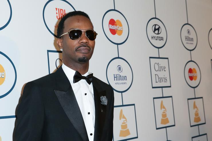 Juicy J 2014 HYUNDAI/GRAMMYs Clive Davis Pre-GRAMMY Gala Activation + Equus Fleet Arrivals