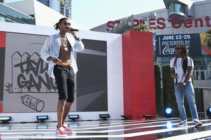 Wiz Khalifa 2017 BETX Live! Sponsored By McDonald's - Day 2
