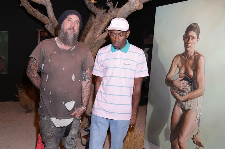 Tyler The Creator Roc96 x Madeworn Barney's Launch Event